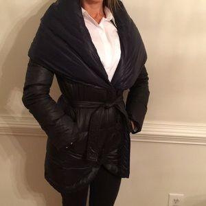 Tahari Reversible Down Puffer Jacket